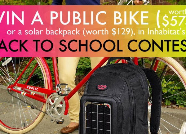 PUBLIC Bikes, Voltaic Solar Power Bags, Solar Bag, Solar Backpack, Solar charging backpack, solar powered backpack, city bikes, dutch style bike