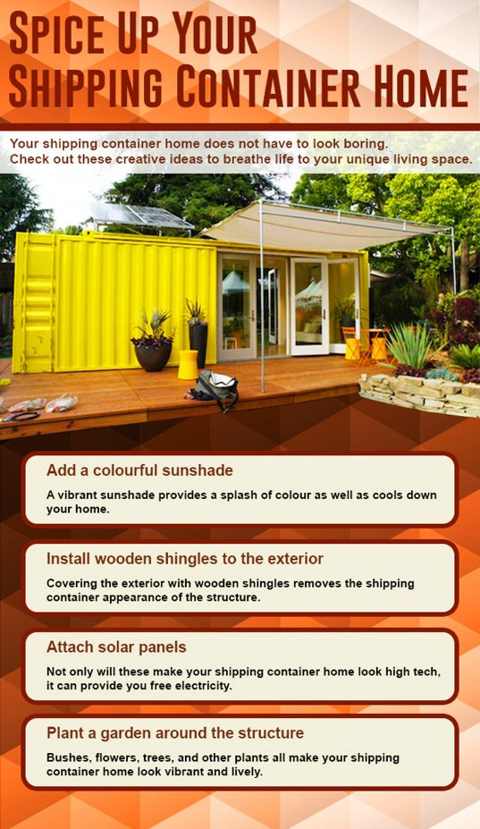 How To Customize And Spice Up A Shipping Container Home
