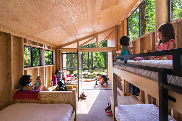 Students Design An Adorable Wedge Cabin For California 39 S