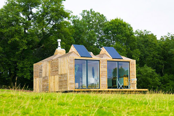 Innovative Modular Eco Pods Operate Off Grid In Any Locale