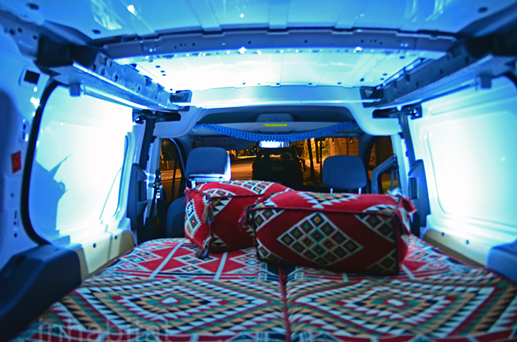 DIY: How to Turn an Ordinary Cargo Van Into a Cozy Tiny ...