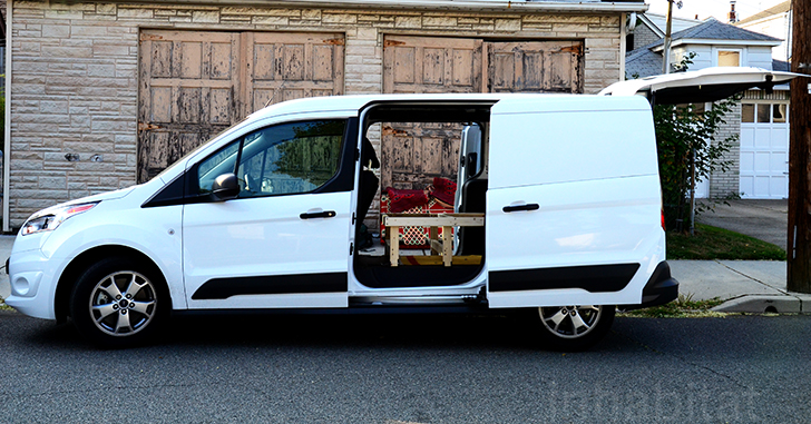 Diy How To Turn An Ordinary Cargo Van Into A Cozy Tiny