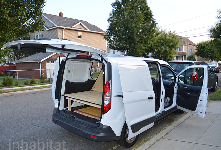 DIY How To Turn An Ordinary Cargo Van Into A Cozy Tiny Home On Wheels