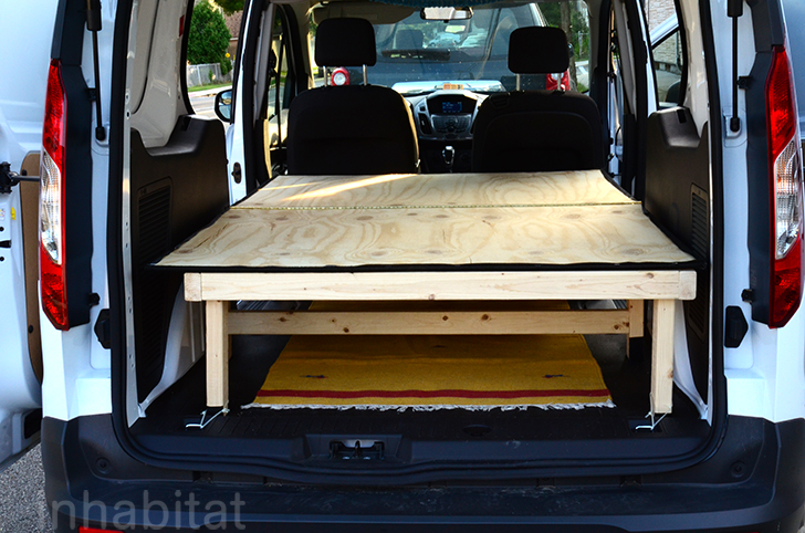 DIY How To Turn An Ordinary Cargo Van Into A Cozy Tiny Home On