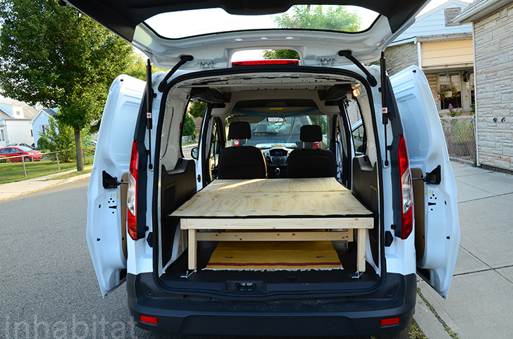 Town And Country Camper >> DIY: How to Turn an Ordinary Cargo Van Into a Cozy Tiny Home on Wheels Ford Van Converted into ...