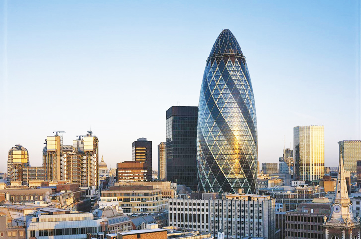 London S Gherkin In A Financial Pickle Goes Up For Sale