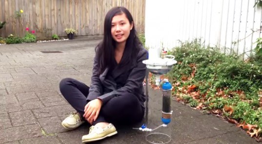Brilliant Teenager Invents Device That Produces Clean Energy AND Fresh Water!