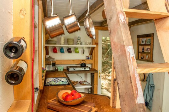 Tiny Home Designs: Herrle Custom Carpentry's Recycled Wooden Wee House