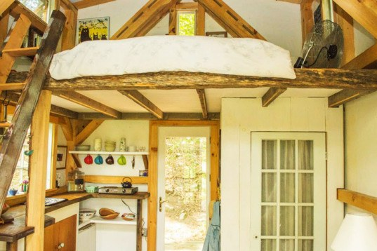 Herrle Custom Carpentry, Wee House, recycled wood, woodland home, love nest,