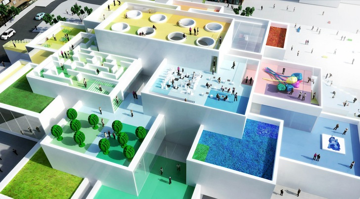 Construction On Big Designed Lego House Breaks Ground With First
