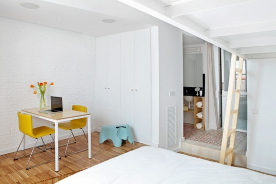 green design, eco design, sustainable design, Miel Arquitectos, Studio P10, tiny living, Barcelona Apartment