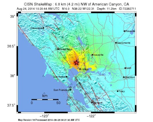 Napa earthquake 2