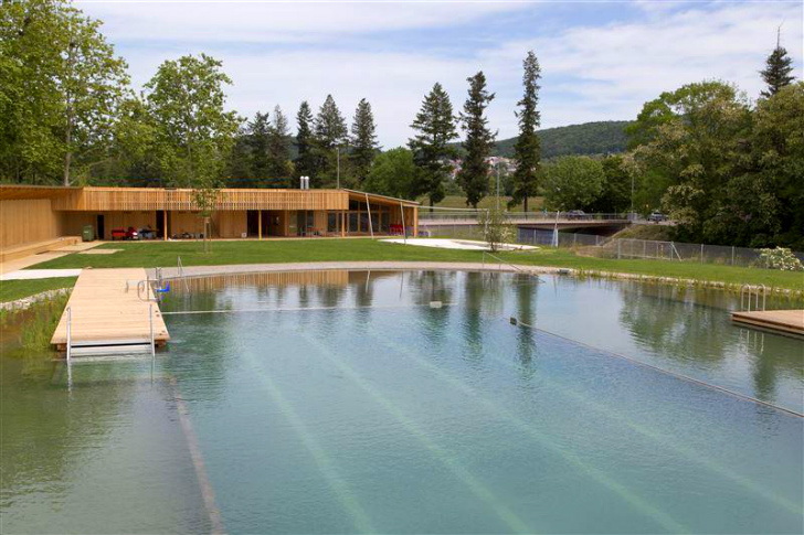 this gorgeous natural swiss pool proves we don 39 t need to. Black Bedroom Furniture Sets. Home Design Ideas