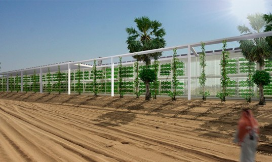 OAXIS arabian desert, hydroponic farm, forward thinking architecture, spanish architects, renewable energy, photovoltaics, hydroponic technology, green technology, desert farming, water recycling