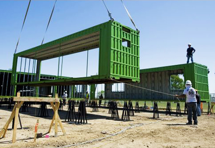 Used Shipping Containers Are Being Transformed Into Schools Inhabitat Green Design