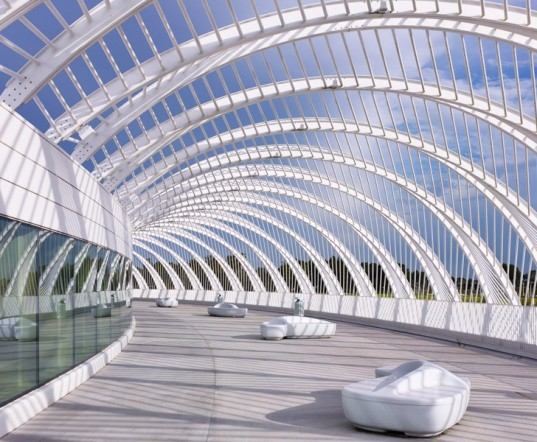 Santiago Calatrava, Florida Polytechnic University, Innovation, Science, and Technology Building, green design, sustainable design, green architecture, sustainable architecture, florida, daylighting, green building, energy-efficient design, lakeland, solar shading, brise soleil, organic architecture, organic design
