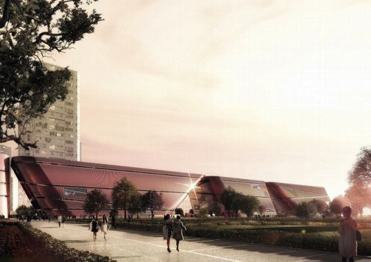 mecanoo, shenzhen, cultural center, longgang district, Longcheng Park, Shenzhen cultural center, public space, Longcheng Plaza,