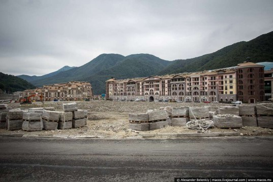 Sochi winter olympics, winter olympics, sochi, ghost town, unfinished buildings, 2014 winter olympics, 2014 sochi olympics, abandoned buildings,