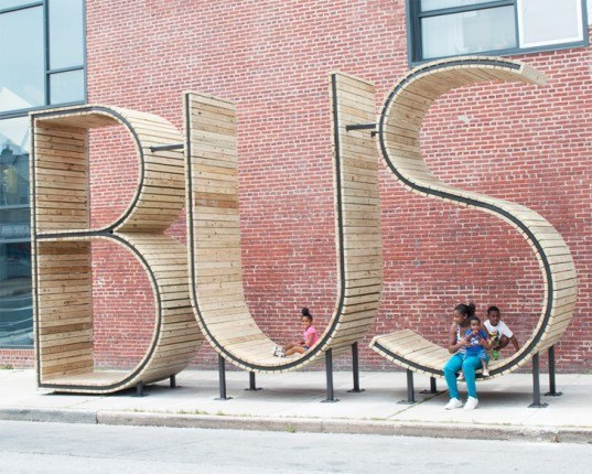 green design, eco design, sustainable design, mmmm..., Baltimore bus shelters, baltimore art installation