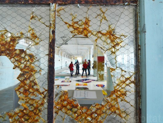 ai weiwei, @large, alcatraz, traces, san francisco, ai weiwei alcatraz, lego, green design, politics, political art, political prisoners, exiles, green art, green design, sustainable design, alcatraz prison, lego art, recycled materials, repurposed materials, prisoners of conscience
