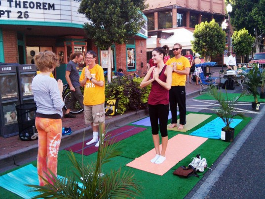 parking day, Park(ing) Day, parking day 2014, Park(ing) Day 2014, urban space, pop-up park, parks, park, sustainable design, green design, green events, green architecture, landscape architecture, eco art, green art, rebar, urban design, green space, parking spot, parking lot, parklet, MITHUN, ASU, Arizona State University