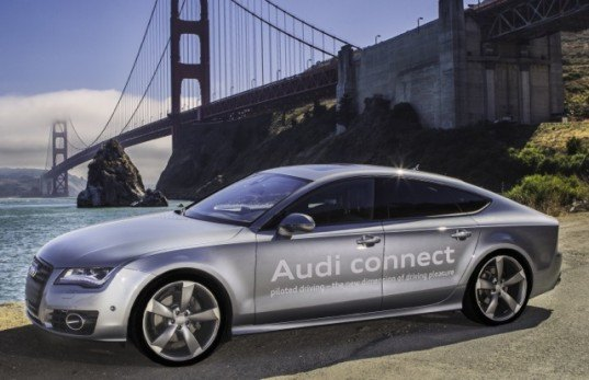 Audi Nabs California's First Autonomous Driving Permit