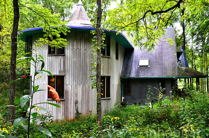 Chris Martins Magical Fairytale House In The Woods Of Southern Indiana