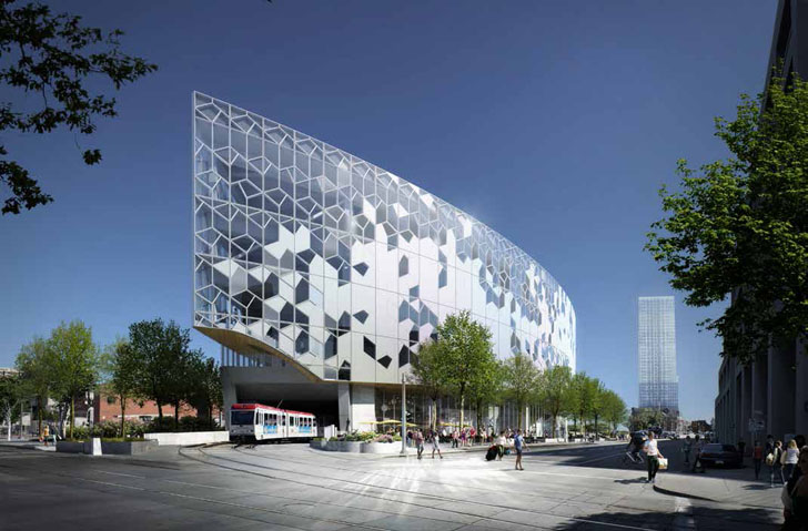 Glass facade architecture  Fritted Glass | Inhabitat - Green Design, Innovation, Architecture ...