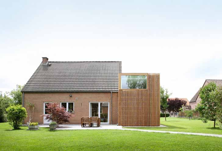 House AND Wood Renovation By Adn Architectures In Belgium | Inhabitat    Green Design, Innovation, Architecture, Green Building