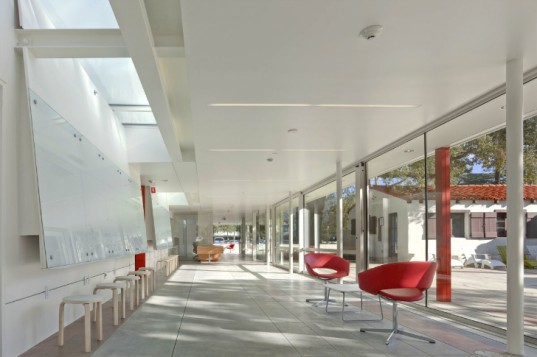 Keck Institute for Space Studies, Lehrer Architects, caltech, leed platinum, daylighting, eco university, pasadena, california institute of technology