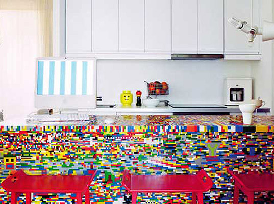 Captivating Designers Do An Amazing Kitchen Renovation With An Ikea Table And 20,000  LEGO Bricks | Inhabitat   Green Design, Innovation, Architecture, Green  Building