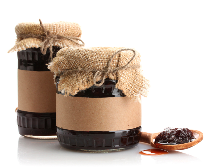 Add cute labels to your preserves with both a description, and a