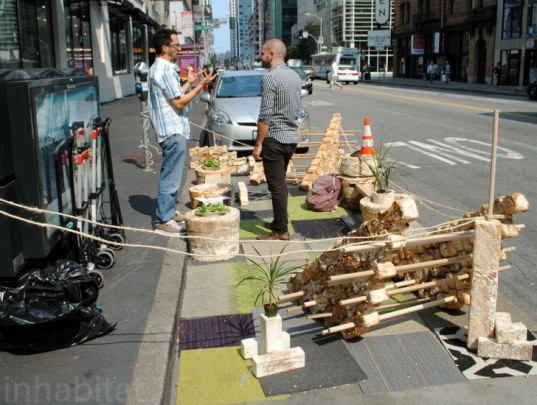 parking day, Park(ing) Day, parking day 2014, Park(ing) Day 2014, urban space, pop-up park, parks, park, sustainable design, green design, green events, green architecture, landscape architecture, eco art, green art, rebar, urban design, green space, parking spot, parking lot, parklet, MITHUN