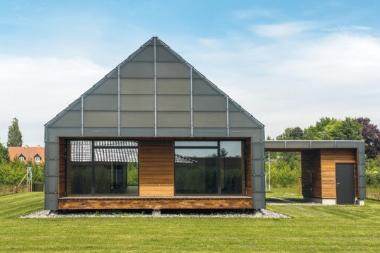 Arkitema Architects, Maintenance-Free House, low maintenance, low maintenance home, green home, energy-efficient home, natural ventilation, Reldania Byg, prefab housing, Denmark
