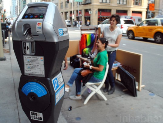 parking day, Park(ing) Day, parking day 2014, Park(ing) Day 2014, urban space, pop-up park, parks, park, sustainable design, green design, green events, green architecture, landscape architecture, eco art, green art, rebar, urban design, green space, parking spot, parking lot, parklet, Morphic Salon
