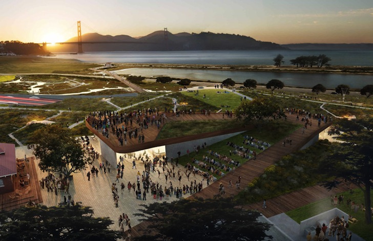 five major landscape architecture firms unveil competing designs