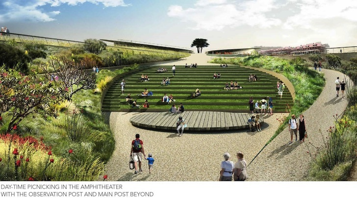 Five major landscape architecture firms unveil competing for New landscape design