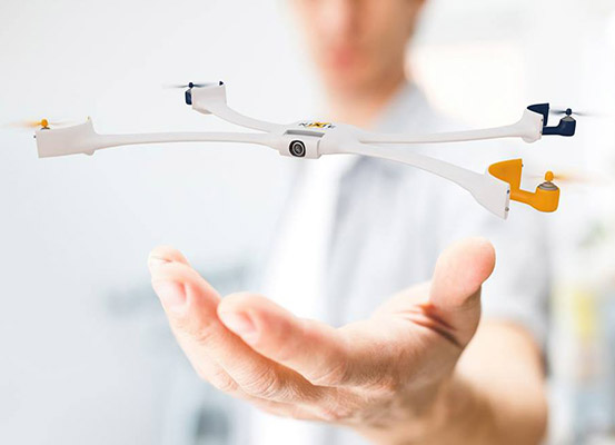 Meet Nixie, the World's First Wearable Drone