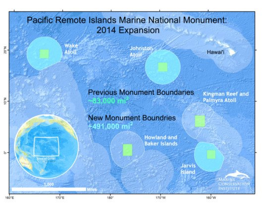 Pacific Ocean Monument Expansion