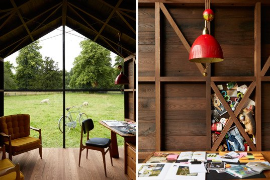 Paul Smith, Nathalie de Leval, wooden shed, London Design Festival 2014, writers shed,
