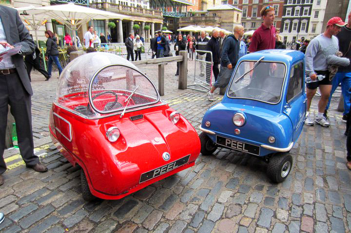 The Peel P50 Is The World S Smallest And Cutest Electric