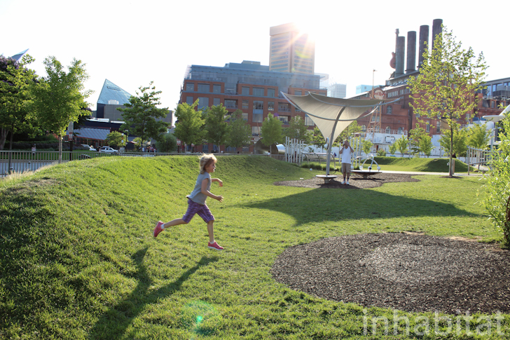 Pierce S Park Combines Art Play And Stormwater
