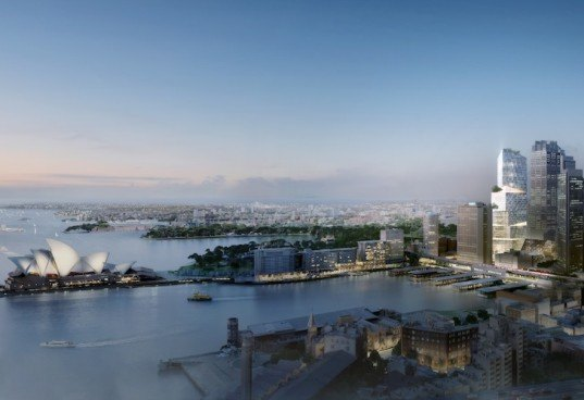 Kim Herforth Nielsen, 3XN Architects, 3XN, Sydney, Australia, Quay Quarter, skyscraper, high-rise, glass tower, glass, passive design, rotated skyscraper, passive design strategies, terraces, landmark tower,