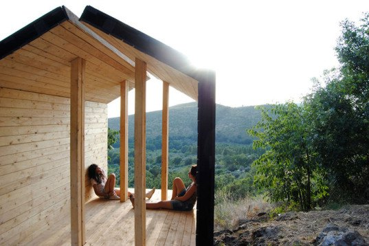 Sa.und.sa architetti, wooden shelter, ESTIA: the hearth room, Italian design, habitable sculpture, architecture workshop