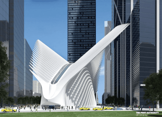 oculus, oculus transportation hub, cadillac, drivenbydesign, nyc design, nyc architecture, world trade center, one world trade center, 1 wtc, 911 memorial, 9/11 memorial, september 11 memorial, september 11 memorial museum, santiago calatrava, world trade center transportation hub