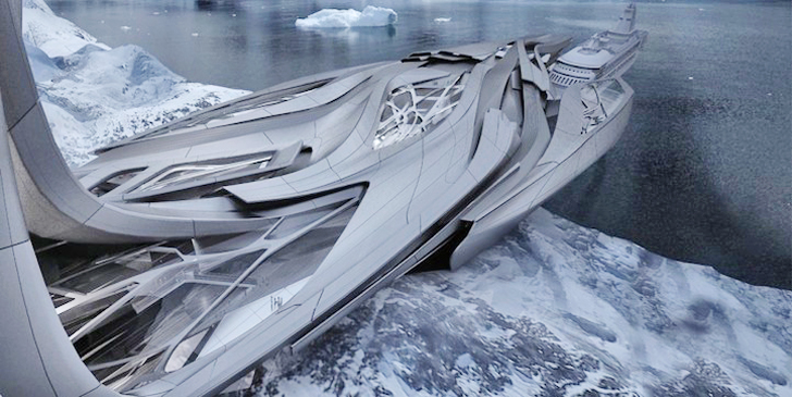 Transforming Leviathan Antarctic Research Facility Is Out Of