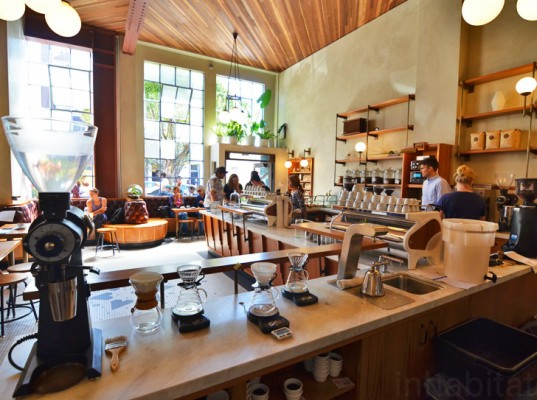 Sightglass Coffee 20th Street Boor Bridges Architecture 3