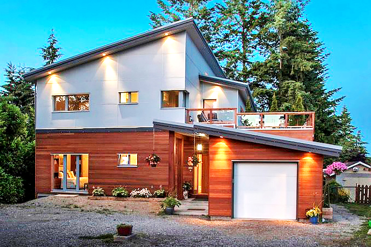 Great Stunning Passive Residence Allows Three Generations Of Canadians To Lighten  Their Environmental Load