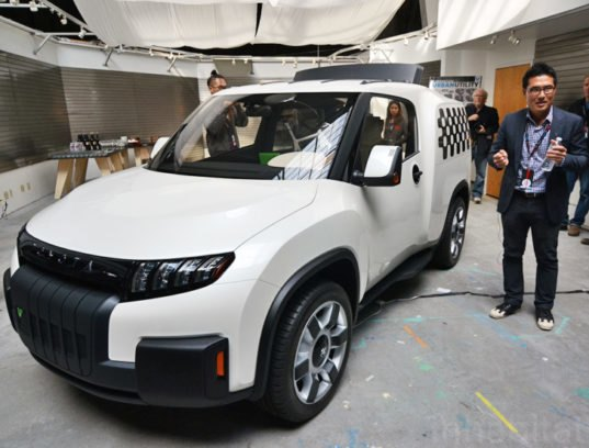 Toyota Unveils Ultra Flexible Transforming Urban Utility