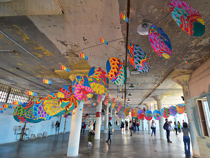 Ai Weiwei Unveils Colorful Chinese Dragon For With Wind
